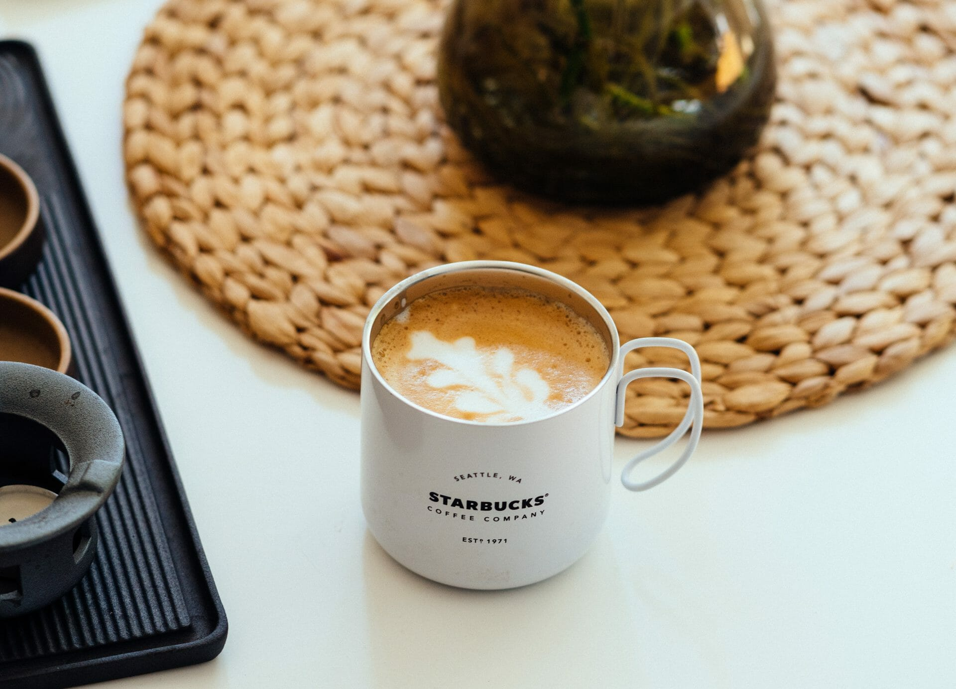 Picture of a Capuccino in a Starbucks Mug for Real Estate News for Investors Podcast Episode #592