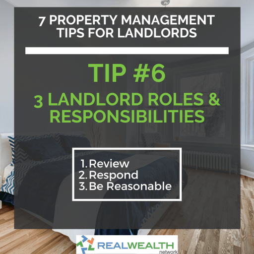 Image Highlighting 3 Landlord Roles and Responsibilities