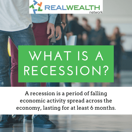 Image defining What is a Recession