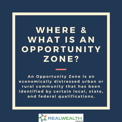 Image Defining Where and What is an Opportunity Zone