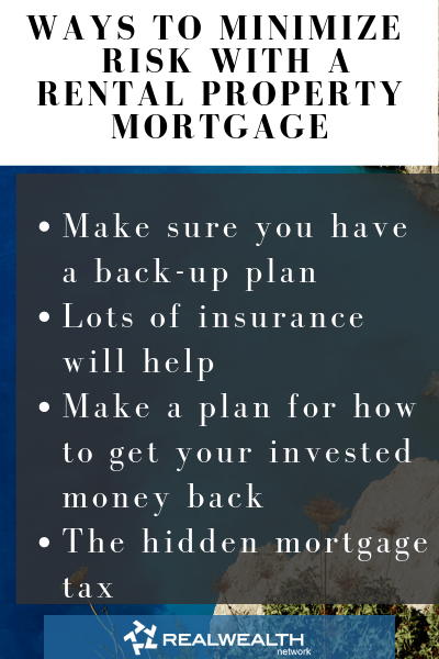 Ways to Minimize Risk with a Rental Property Mortgage