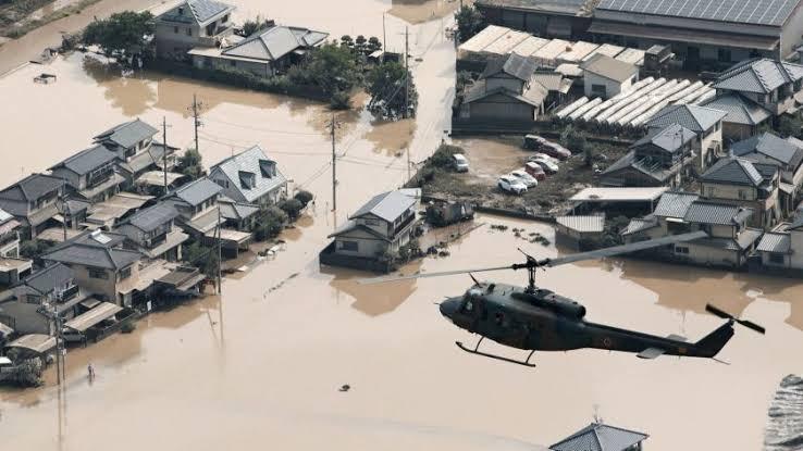 VIDEO: JAPÓN DESALOJA A 200 MIL PERSONAS DEBIDO A FUERTES LLUVIAS