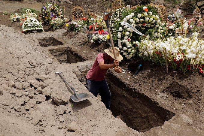 MÉXICO ACUMULA MÁS DE 295 MIL CONTAGIOS DE COVID-19 Y 34 MIL 730 MUERTES