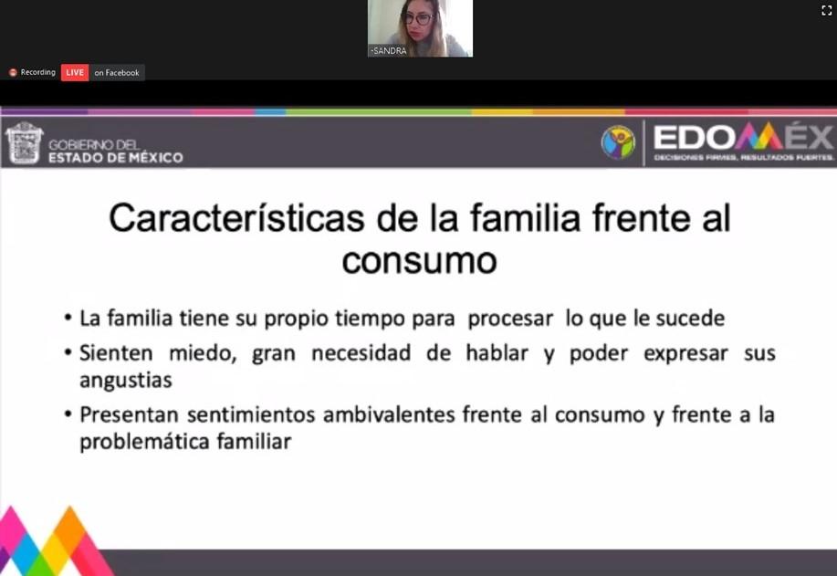 CONCLUYE CURSO DE PREVENCIÓN DE ADICCIONES DE LA SECRETARÍA DE SALUD EDOMÉX