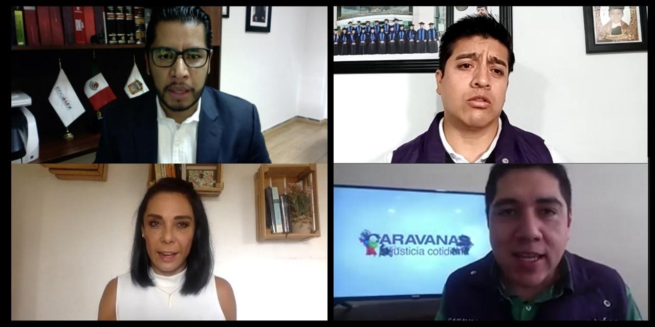 ACERCAN MECANISMOS DE SOLUCIÓN DE CONTROVERSIAS, A TRAVÉS DE LAS CARAVANAS POR LA JUSTICIA
