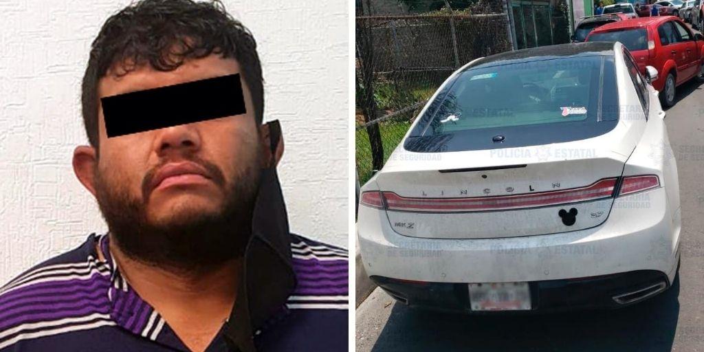 RECUPERAN VEHÍCULO CON REPORTE DE ROBO EN ECATEPEC; HAY UN DETENIDO
