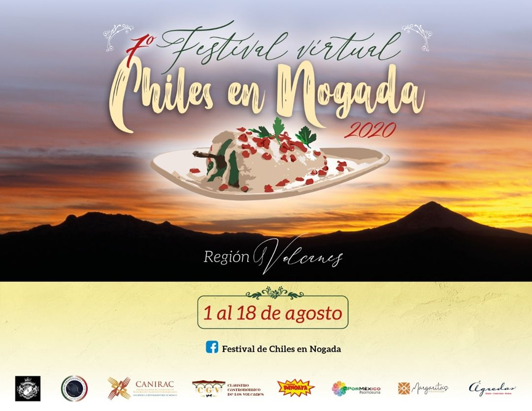 DISFRUTA DEL 7º FESTIVAL DE CHILES EN NOGADA.