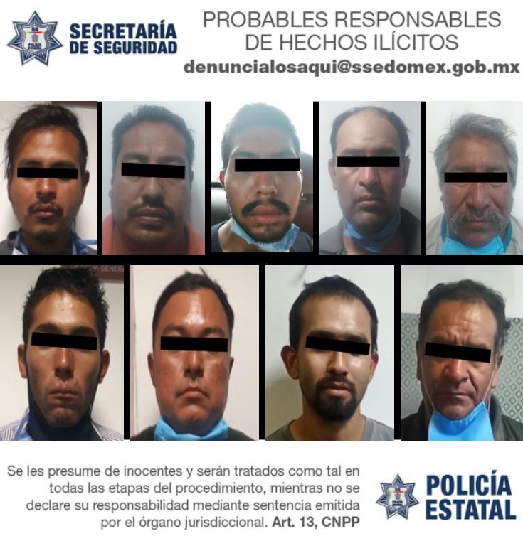 ASEGURAN INMUEBLE UTILIZADO PARA ALMACENAR UNIDADES DE TRANSPORTE DE CARGA ROBADAS