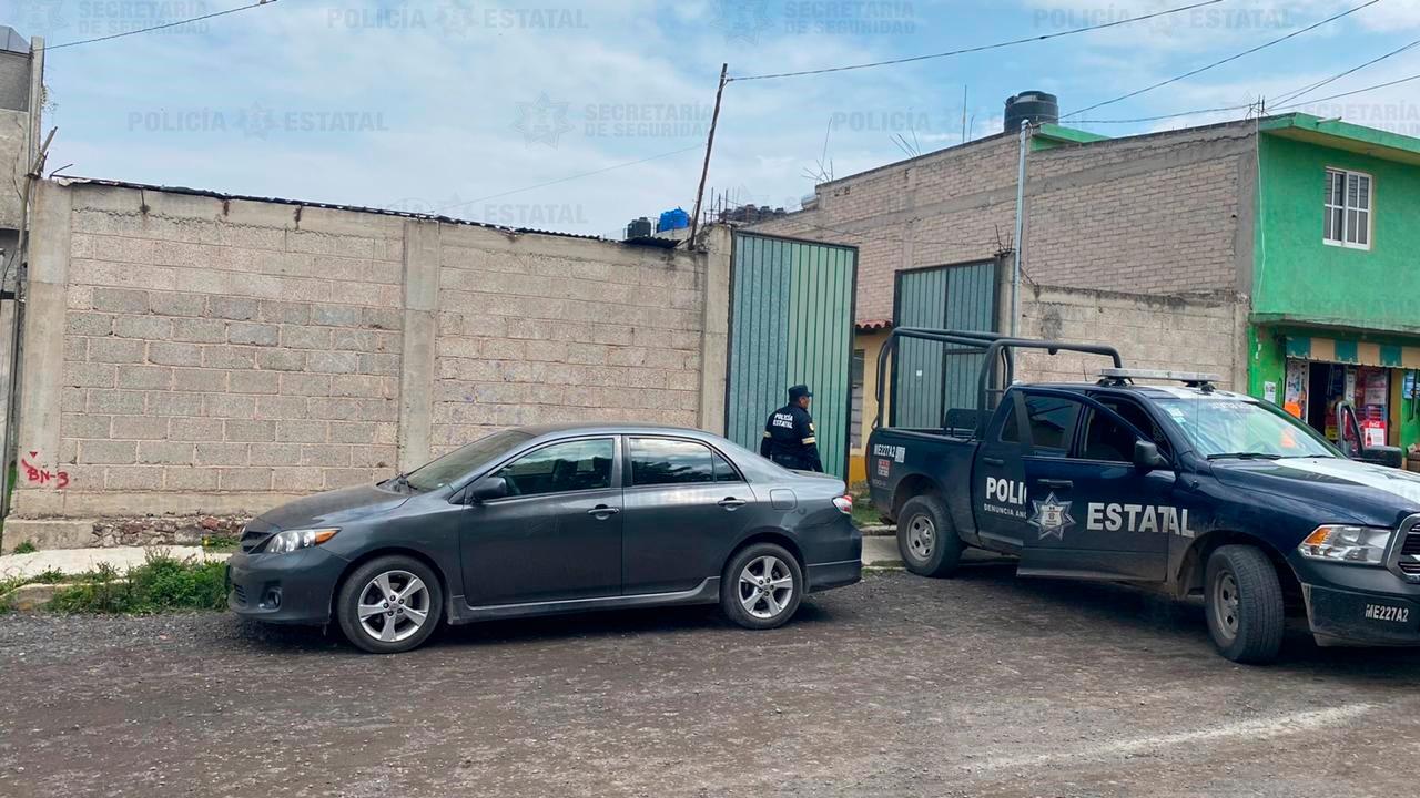RESGUARDAN PREDIO DONDE APARENTEMENTE SE ALMACENAN UNIDADES DE CARGA CON REPORTE DE ROBO