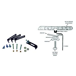 elkay dqlugs universal sink mounting clips brackets