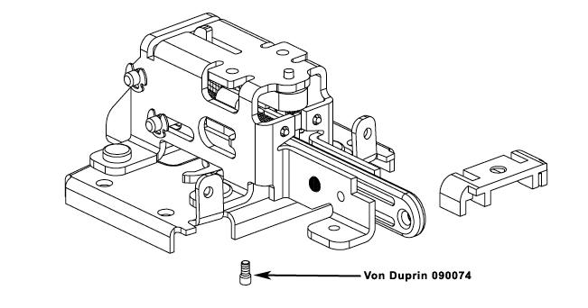 VON DUPRIN 090074 98/99 NL Drive Screw Package of 10
