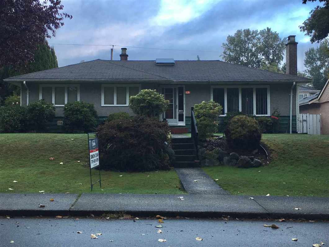 INVESTOR ATTENTION! fantastic location, a large 6,270 sqft in Garden Village. Gorgeous unique one story home. 4 bedrooms, 2 bathrooms. It is just mins away form Moscrop School, elementary schools (French), BCIT, Burnaby Hospital, church and close to Metrotown.