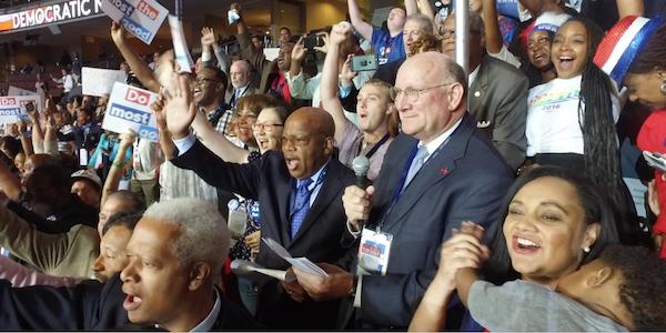 Georgia delegation nominates Hillary Clinton