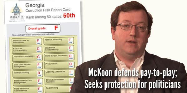 Josh McKoon ethics