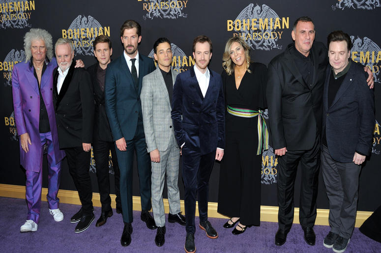 How Rami Malek The Cast And Crew Recreated Queens Iconic Live Aid Performance For Bohemian