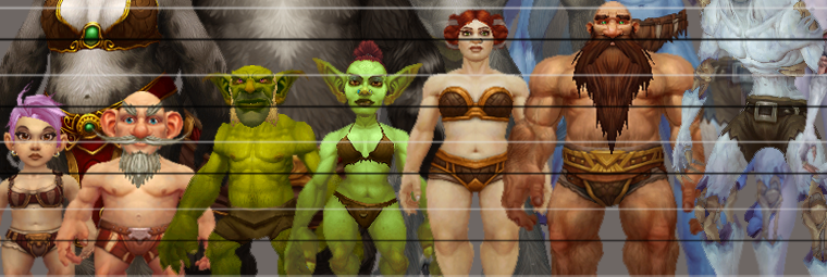 Ever wondered how tall short the different races in world of warcraft are compared to one another well now you can find out also wow race height chart neon rh neonivtr