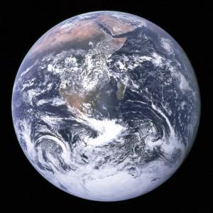 The Blue Marble. Photo taken by crew of Apollo 17. Photo by NASA
