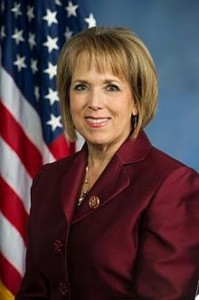 Official photo of U.S. Rep. Michelle Lujan Grisham.