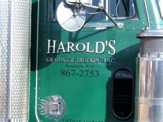 Courtesy Harold's Grading and Trucking