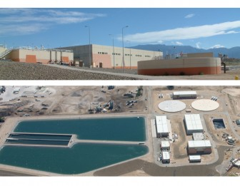 The Southside Wastewater Reclamation Plant in Albuquerque. Photo: ABCWUA