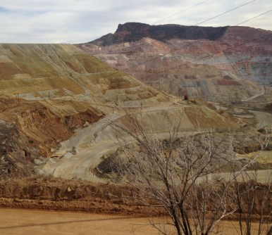 Copper mine, Grant County