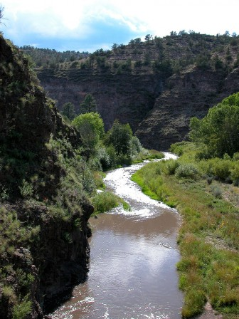 Middle Fork of the Gila River. Photo Credit: Joe Burgess, Public Domain