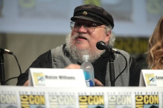 George R.R. Martin at San Diego Comic Con in 2014. Photo Credit: Gage Skidmore cc