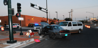From the scene of the June 7, 2012 accident.
