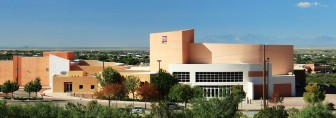 A photo of the Tays Center at the New Mexico State University-Alamogordo Campus. Photo via university website.