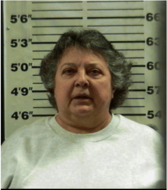 Mug shot from when Dianna Duran was released from Santa Fe County Jail.