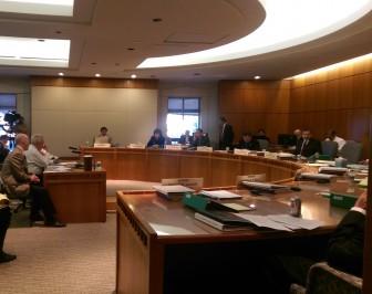 Senate Finance Committee hearing driver's license/REAL ID legislation.
