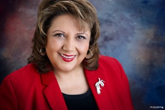 Veronica C. García, Ed.D., executive director of New Mexico Voices for Children