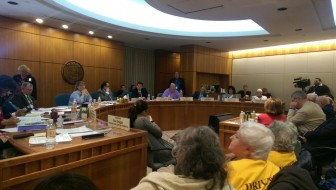 Senate Judiciary Committee hearing REAL ID/driver's license bill.