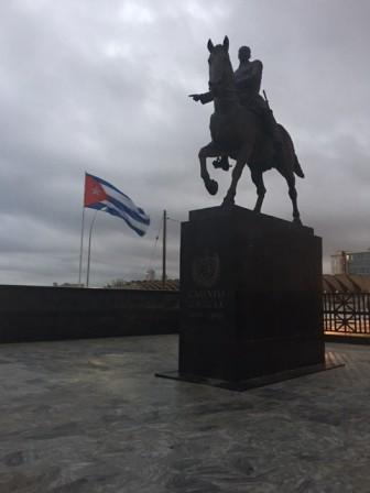 A statue in Cuba. Photo Credit: Javier Martinez.