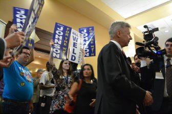 Gary Johnson at the Libertarian National Convention