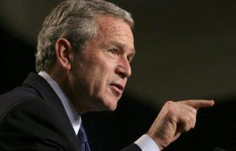 George W. Bush photo from 2005, via White House.
