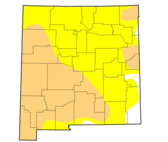 New Mexico Drought Monitor for April 26, 2016.
