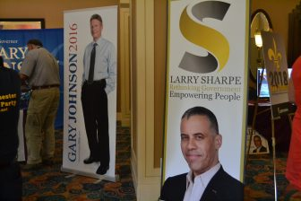 Larry Sharpe and Gary Johnson