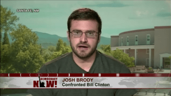 Josh Brody on Democracy Now!