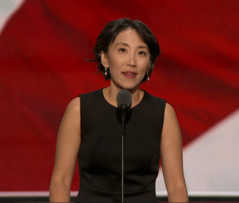Dr. Lisa Shin at the 2016 Republican National Convention
