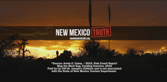 Screenshot from a New Mexico Truth TV ad.