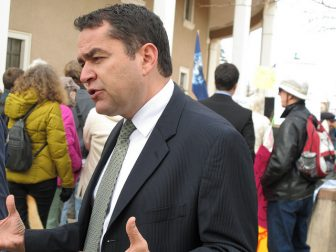 Eric Griego at the State Capitol in 2012.