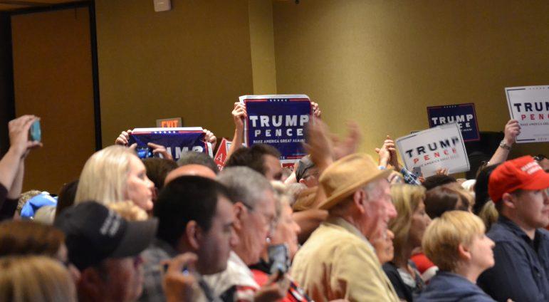 Trump supporters in Albuquerque