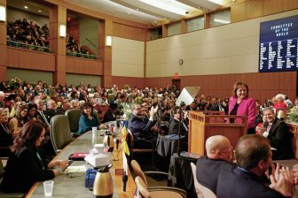 Gov. Susana Martinez during her 2017 State of the State address.