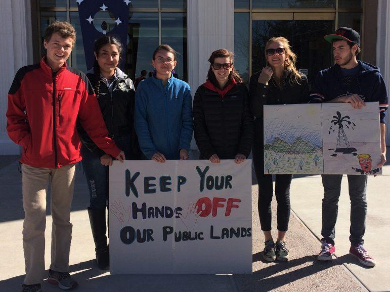 Students from Santa Fe Waldorf High School