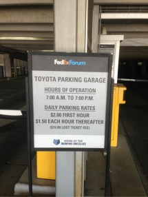 Parking Place Garage In Memphis Parkme Year Of Clean Water