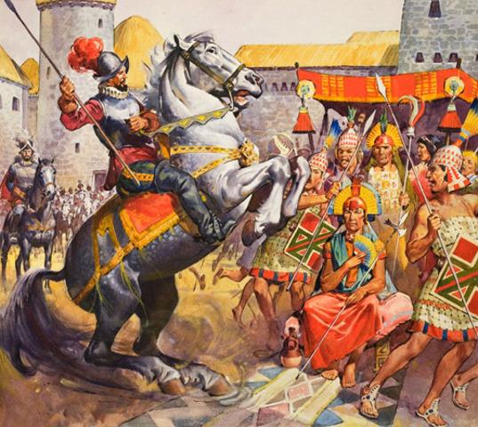 Inca Empire Major Events Timeline Timetoast Timelines