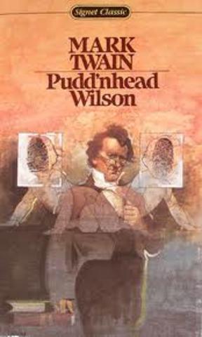Puddnhead Wilson timeline  Timetoast timelines