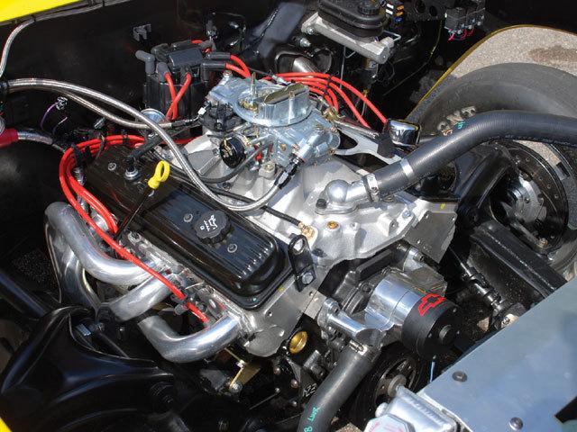350 Chevy Engine Diagram
