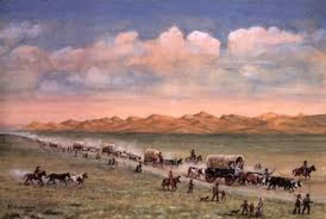1840 1850 Manifest Destiny American Progress Timeline